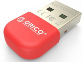 Адаптер USB Bluetooth Orico BTA-403 (красный)